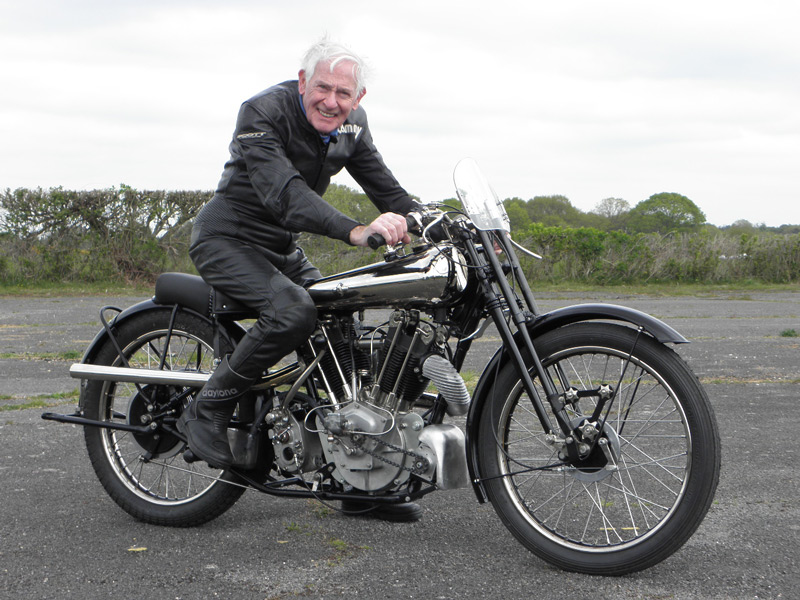 Sammy Miller MBE Brough Superior