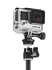 GoPro on stand